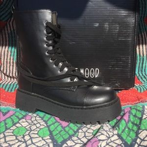 Currant Mood Basic Combat Boot 9